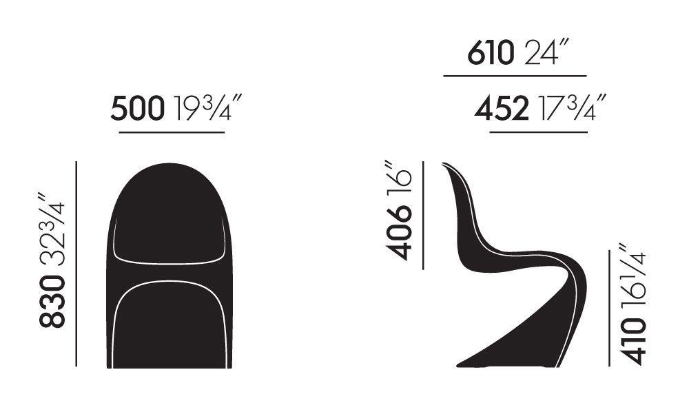 Panton Chair by Vitra