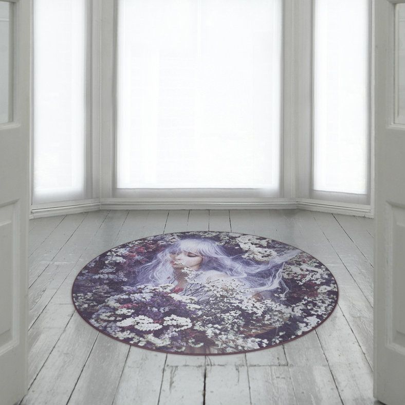 Floral Fantasy Rug by Mineheart
