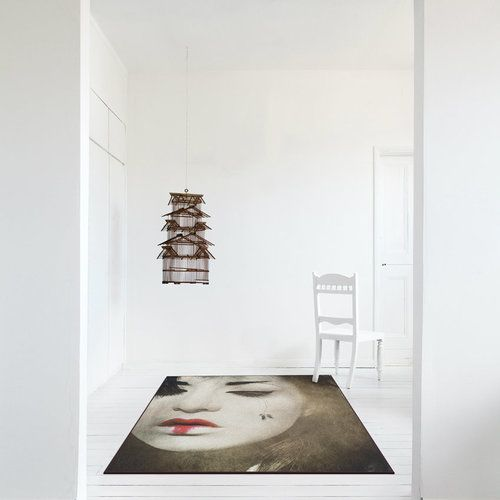 Japanese Repose Rug by Mineheart