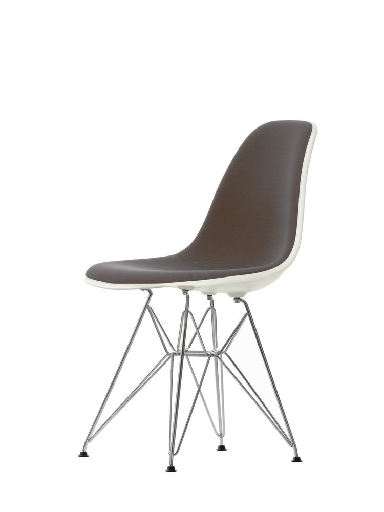 DSR Side Chair with Front Upholstery by Vitra