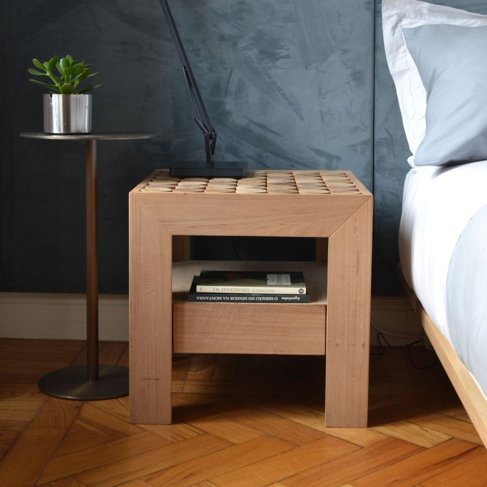 Sofia Bedside Table with Drawer by mg12