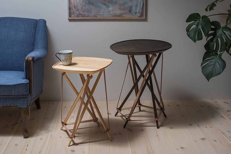 Seven Side Table/Coffee Table by LITH LITH LUNDIN