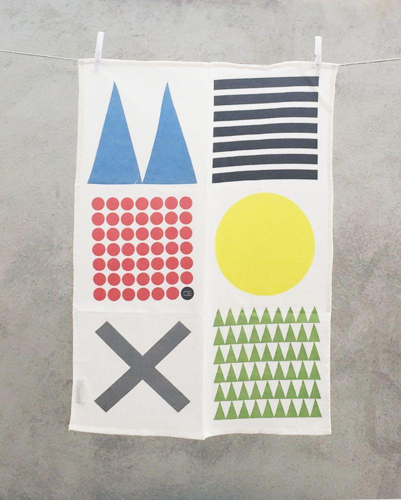 DIDO - kitchen towel by Camilla Engdahl