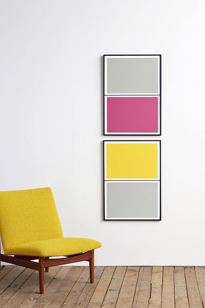 Twin Tone Play Screen Prints - Set of 2 - Rachel's Pick by Lane