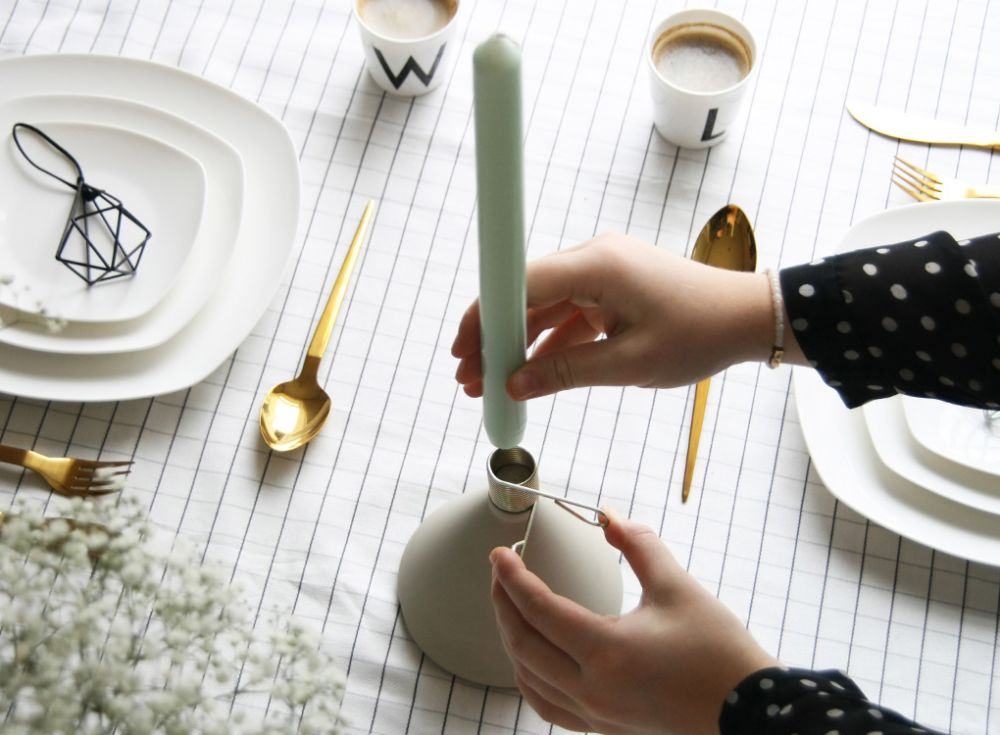 Conic - Candle Holder by MOXON London