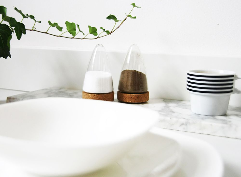 BOEIEN - SALT AND PEPPER SHAKERS by MOXON London