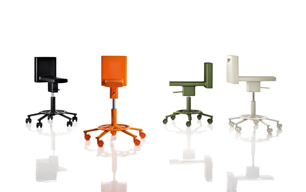 360° Swivel Chair by Magis Design