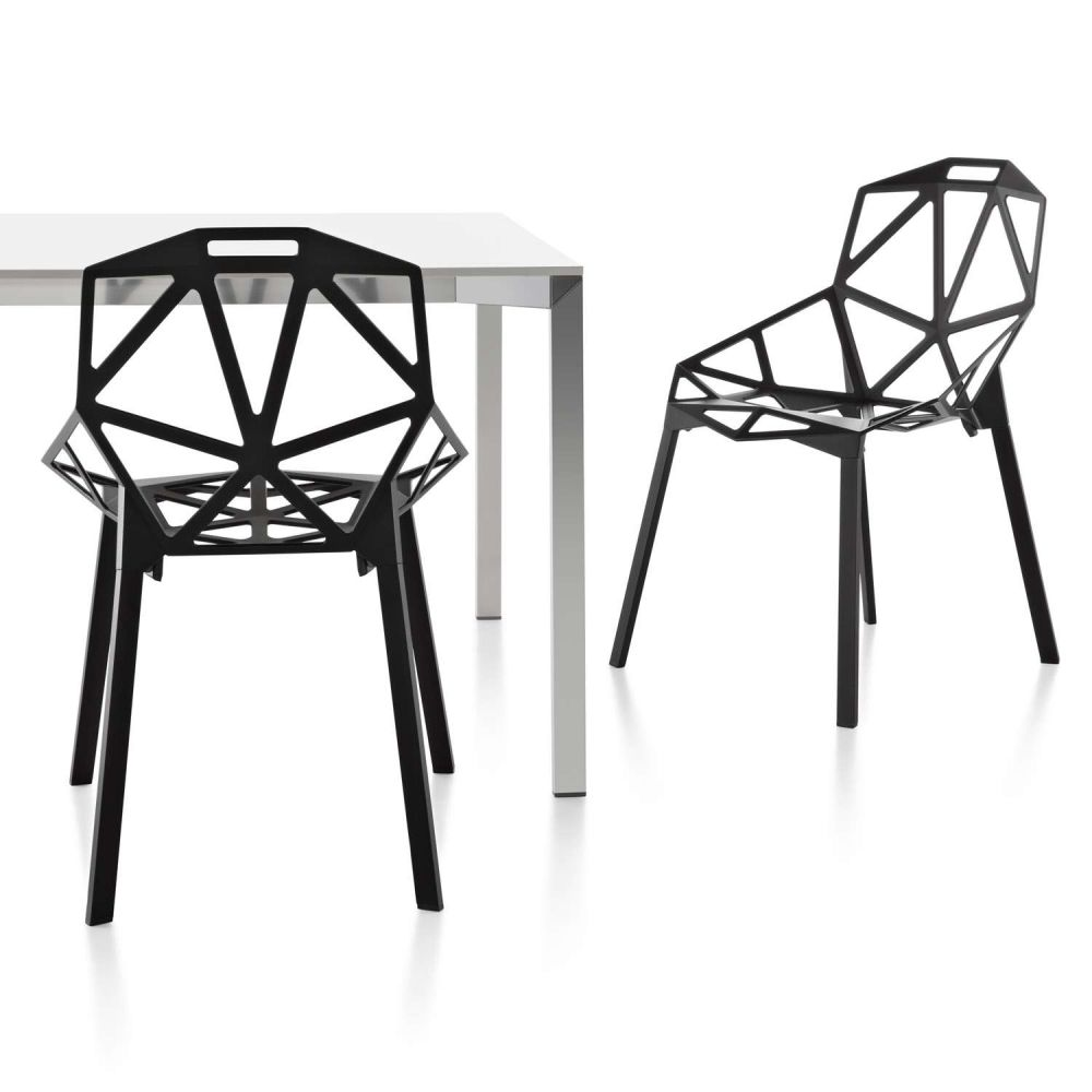 Chair One - Stacking, Set of 2 by Magis Design