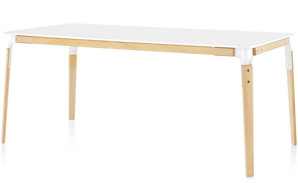 Steelwood Table - Rectangular by Magis Design