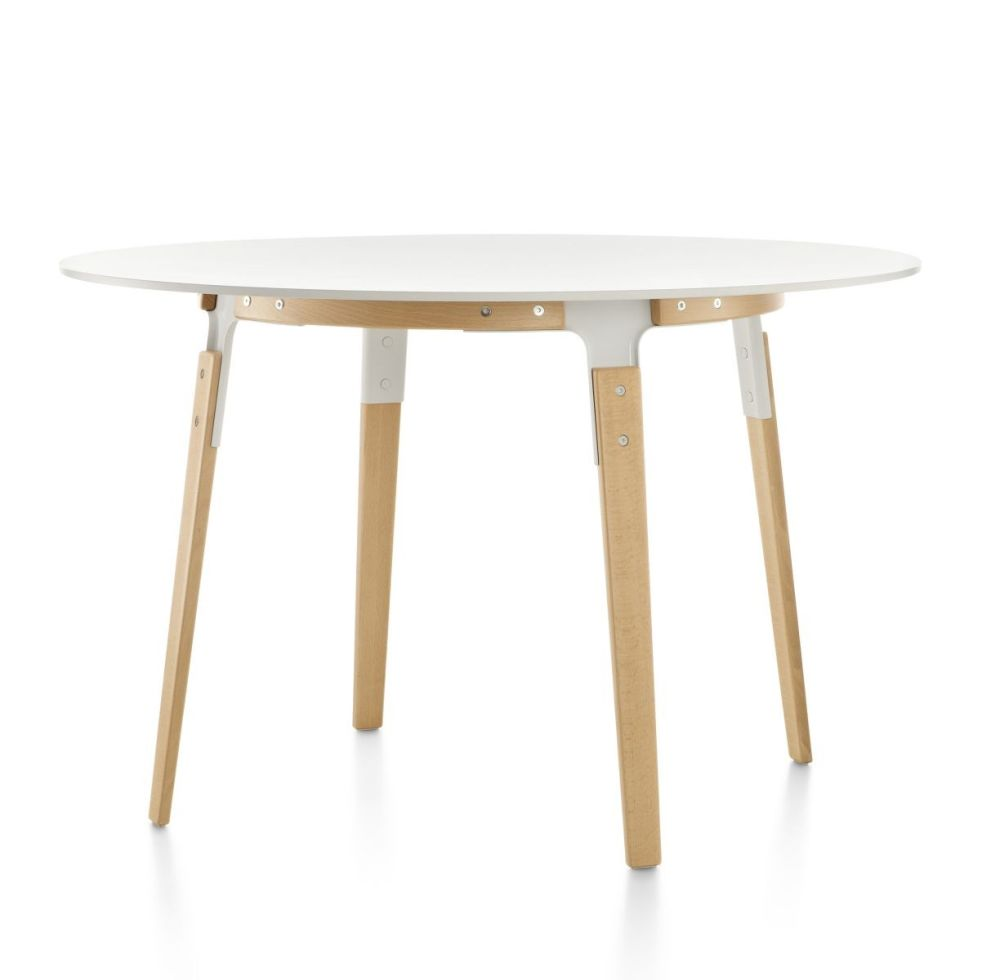 Steelwood Table - Round by Magis Design