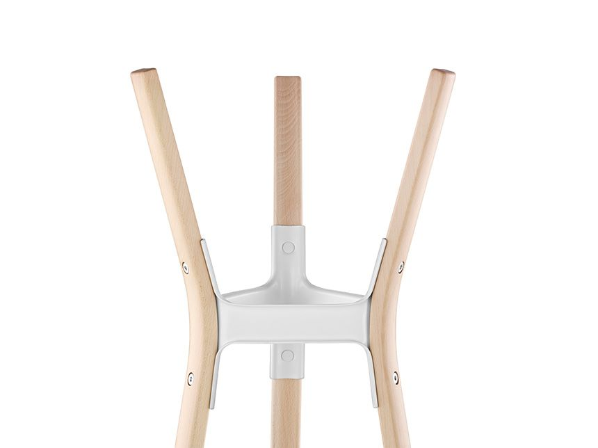 Steelwood Coat Stand by Magis Design