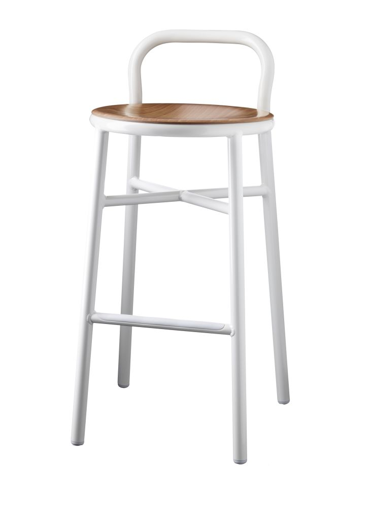 Pipe Barstool by Magis Design