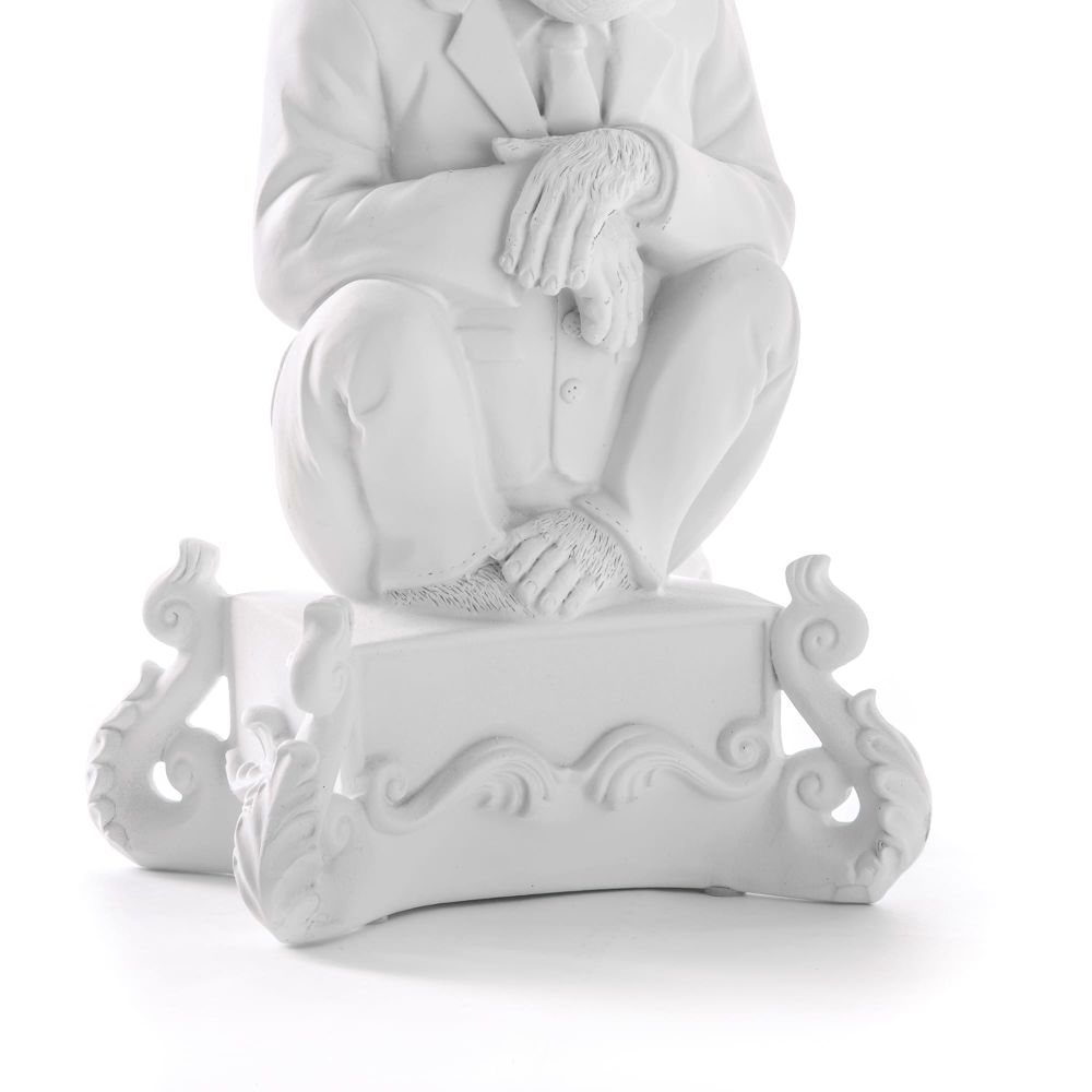 Burlesque Chimp Candle Holder by Seletti