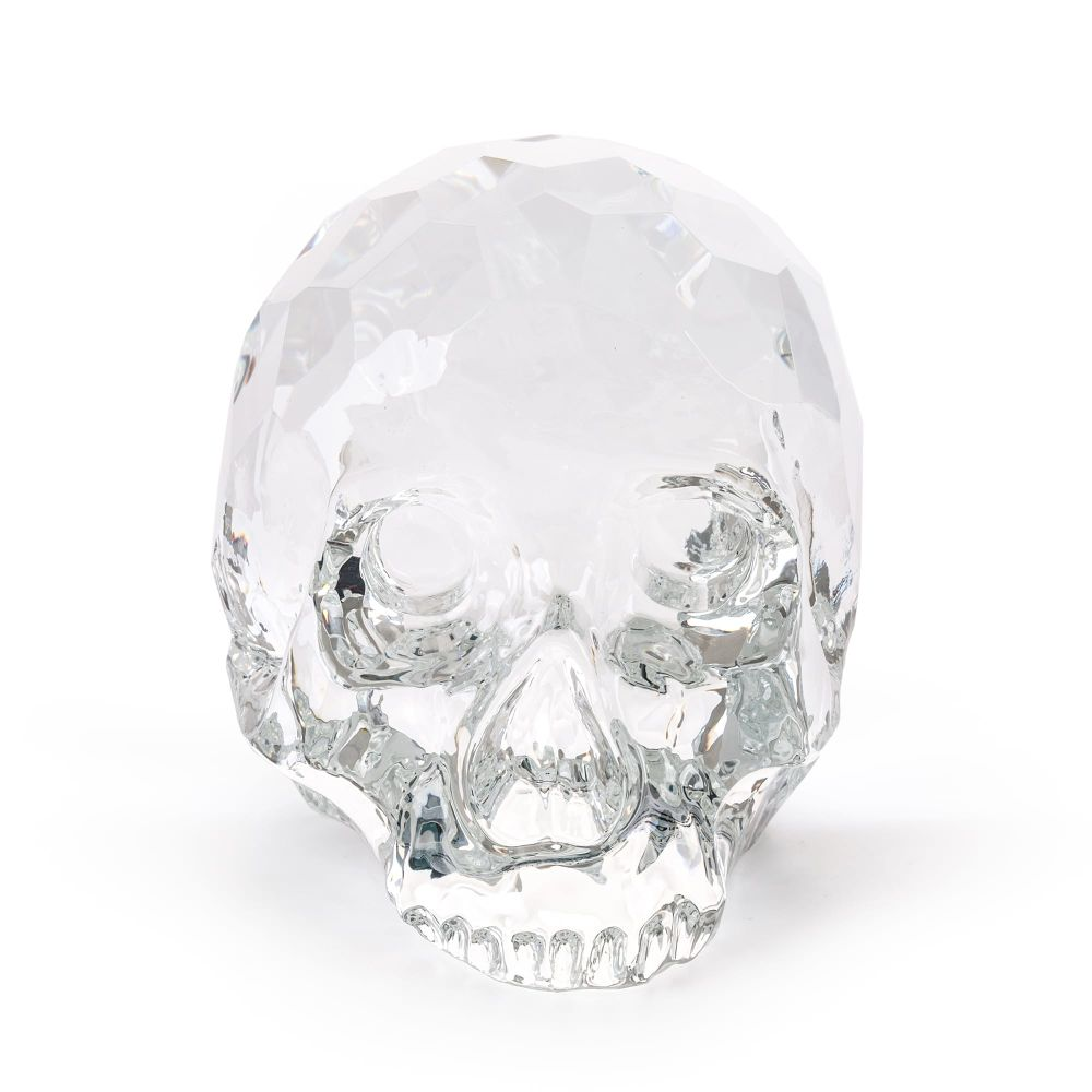 The Hamlet Dilemma Crystal Skull by Seletti