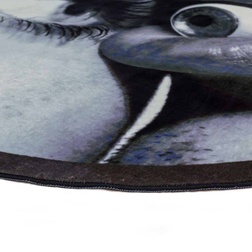 Round Rug Eye & Mouth by Seletti