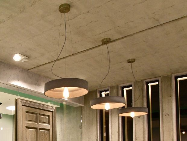 Rota Concrete Pendant Light by URBI ET ORBI