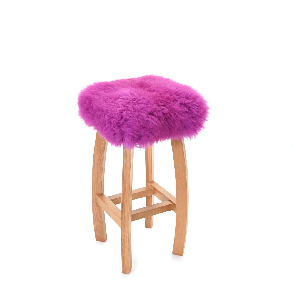 Gwyn - Sheepskin Baa Bar Stool  by Baa Stool