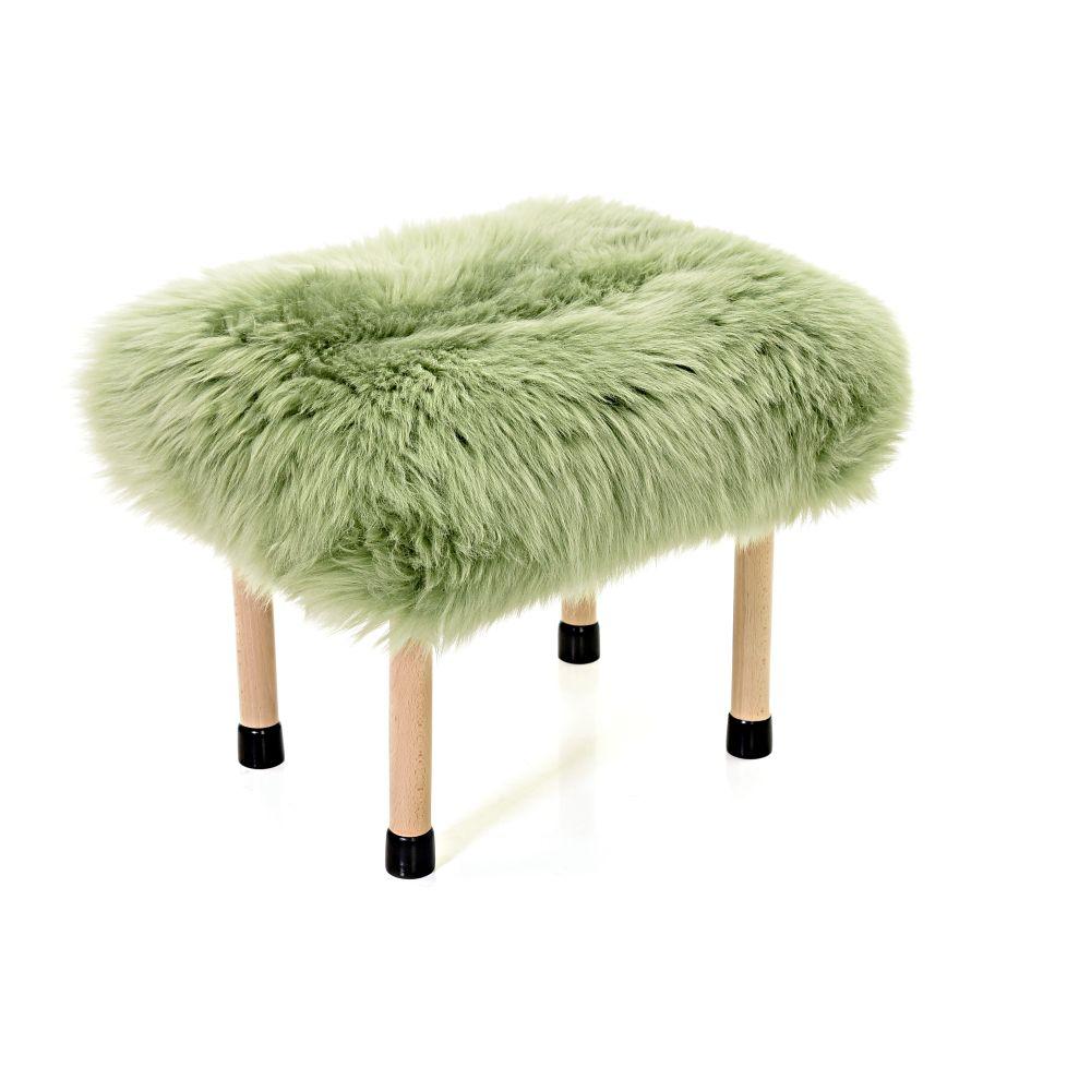 Nerys - Sheepskin Footstool by Baa Stool