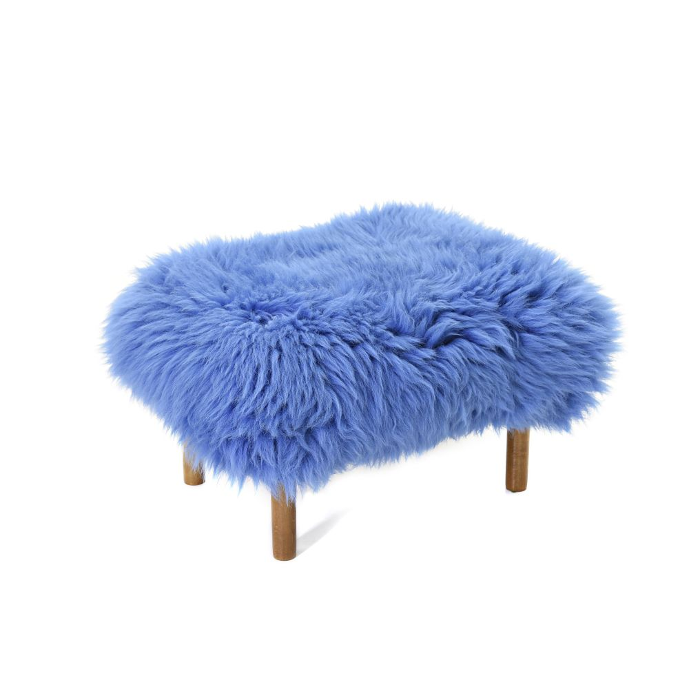 Bronwen - Sheepskin Footstool by Baa Stool