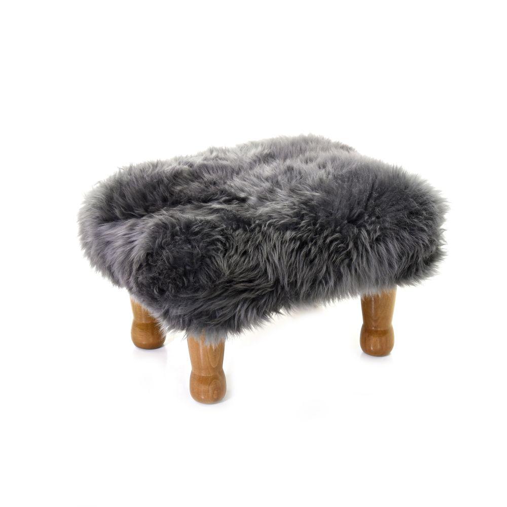 Anwen - Sheepskin Footstool  by Baa Stool