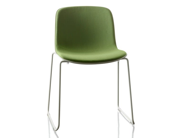 Troy Stacking Chair, Sledge Base with Front Cover - Set of 2 by Magis Design