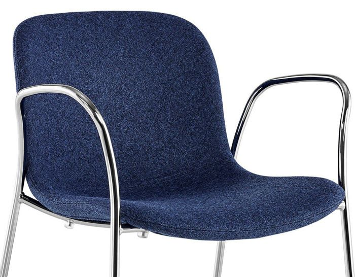 Troy Armchair - 4 Legs, Fully Upholstered - Set of 2 by Magis Design
