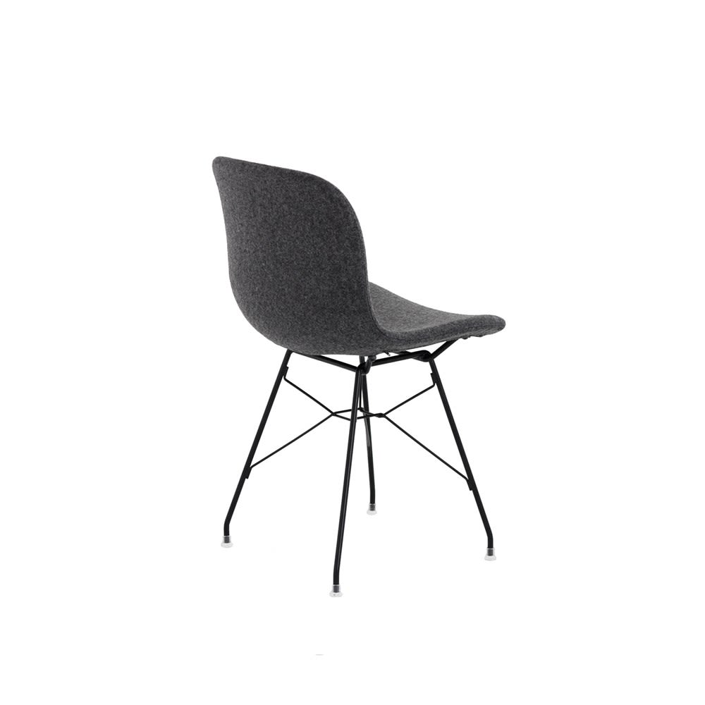 Troy Chair - Steel Rod Base - Fully Upholstered by Magis Design