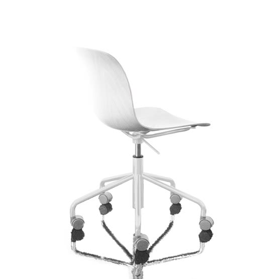 Troy Chair - Swivel Base on 5 Wheels by Magis Design