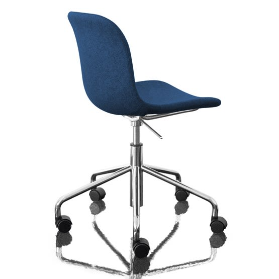 Troy Chair - Swivel Base on 5 Wheels - Fully Upholstered by Magis Design