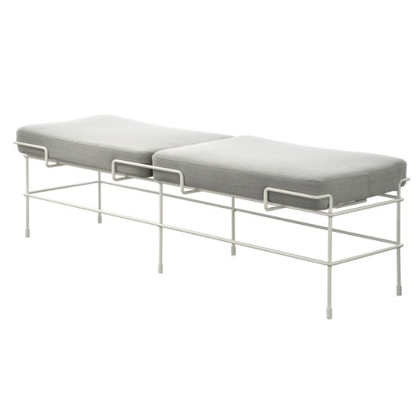 Traffic 2 Seater Bench by Magis Design