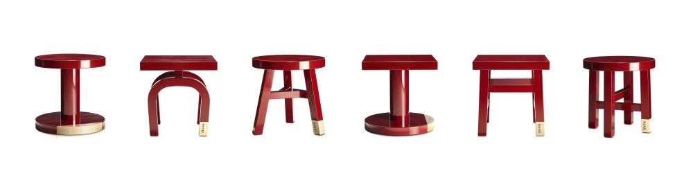 Common Comrades Side Table Tailor by moooi