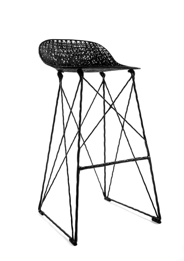 Carbon Bar Stool by moooi