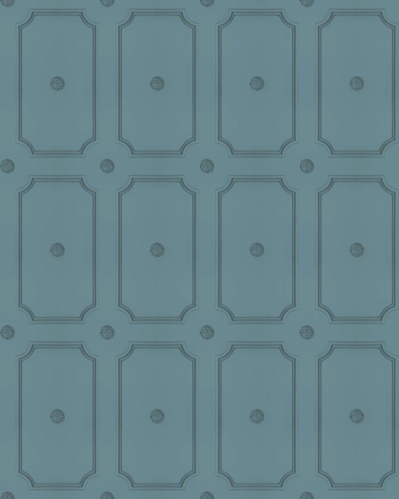 Georgian Dot Panelling Wallpaper by Mineheart