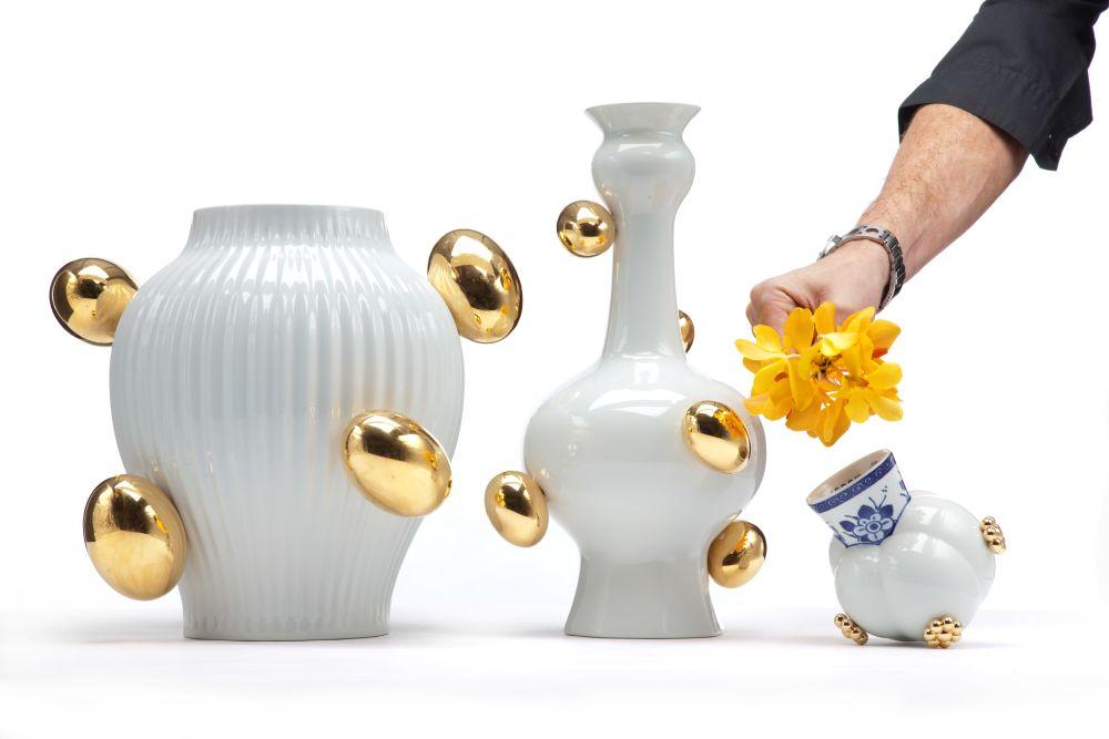 Delft Blue Vase 6 by moooi