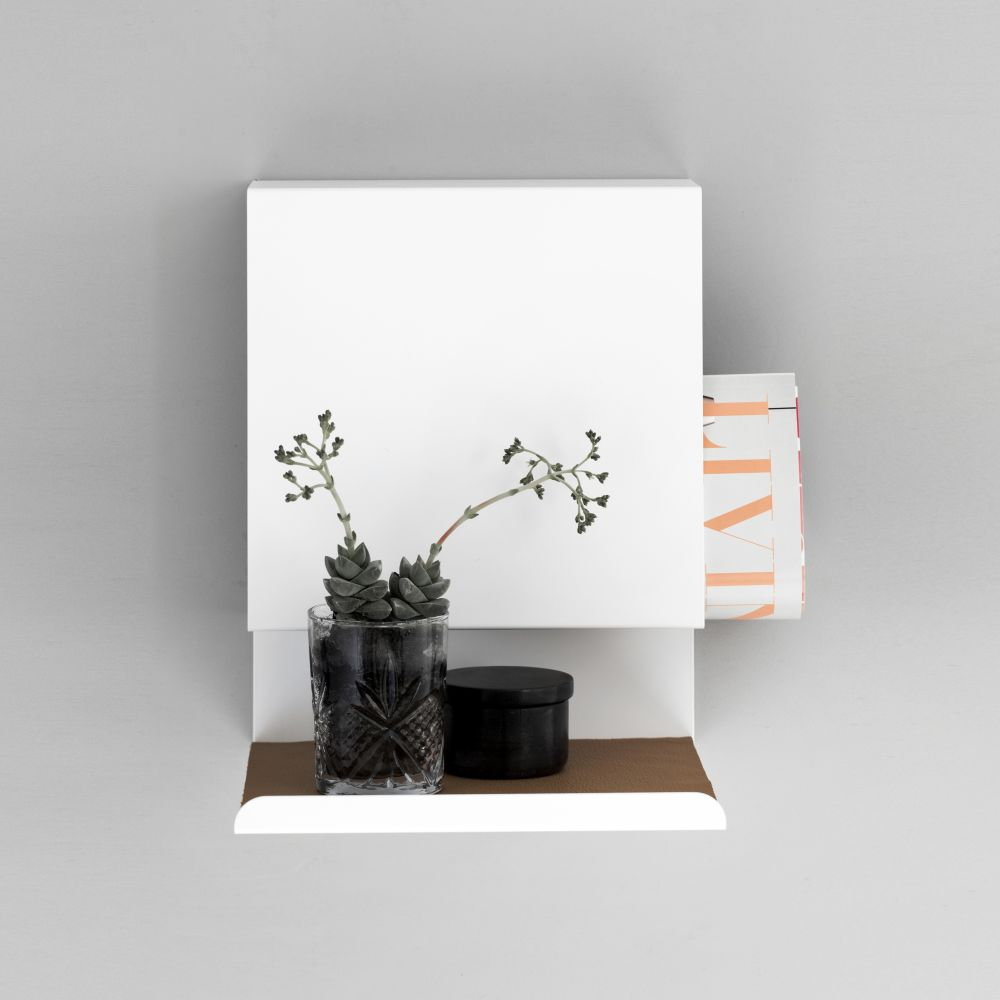Mat leather, Ledge:able by Anne Linde