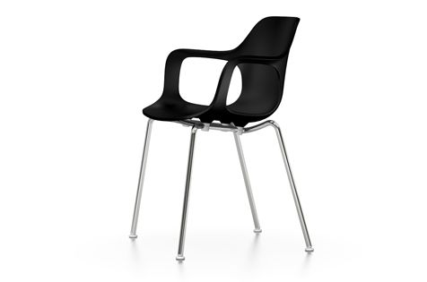 HAL Armchair Tube Stackable, Without Seat Upholstery by Vitra