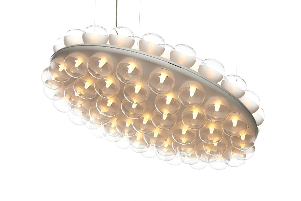 Prop Pendant Light - Double, Round by moooi