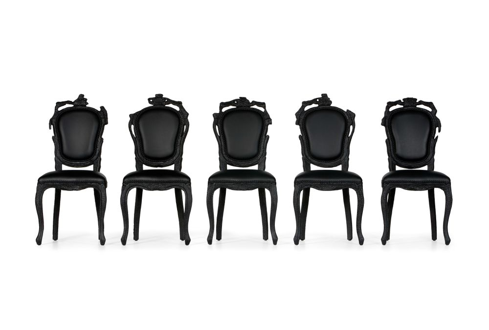 Smoke Dining Chair by moooi