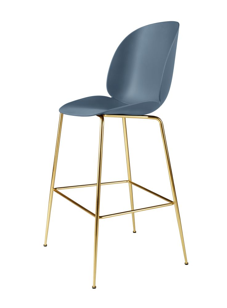 Beetle Bar Chair - Unupholstered by Gubi