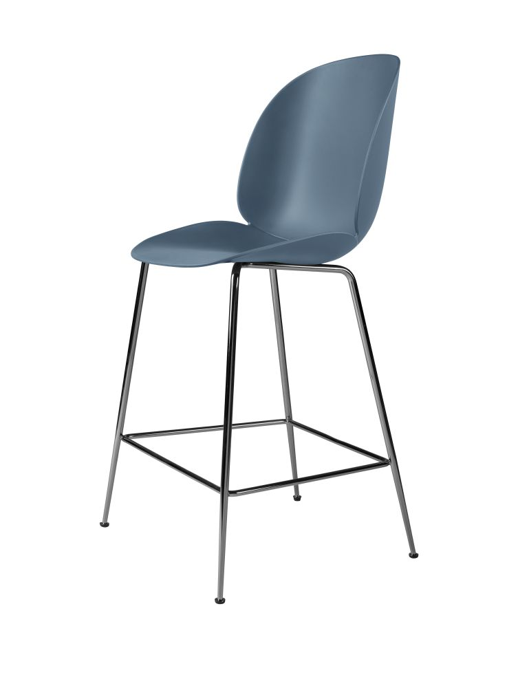 Beetle Counter Chair - Unupholstered by Gubi