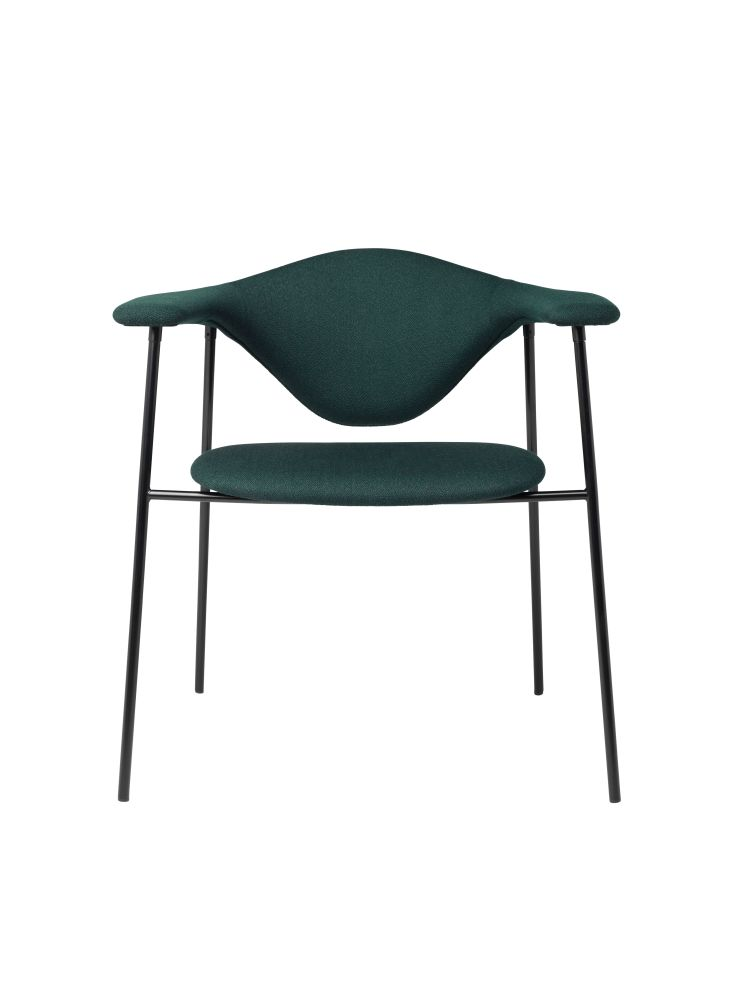 Masculo Dining Chair by Gubi