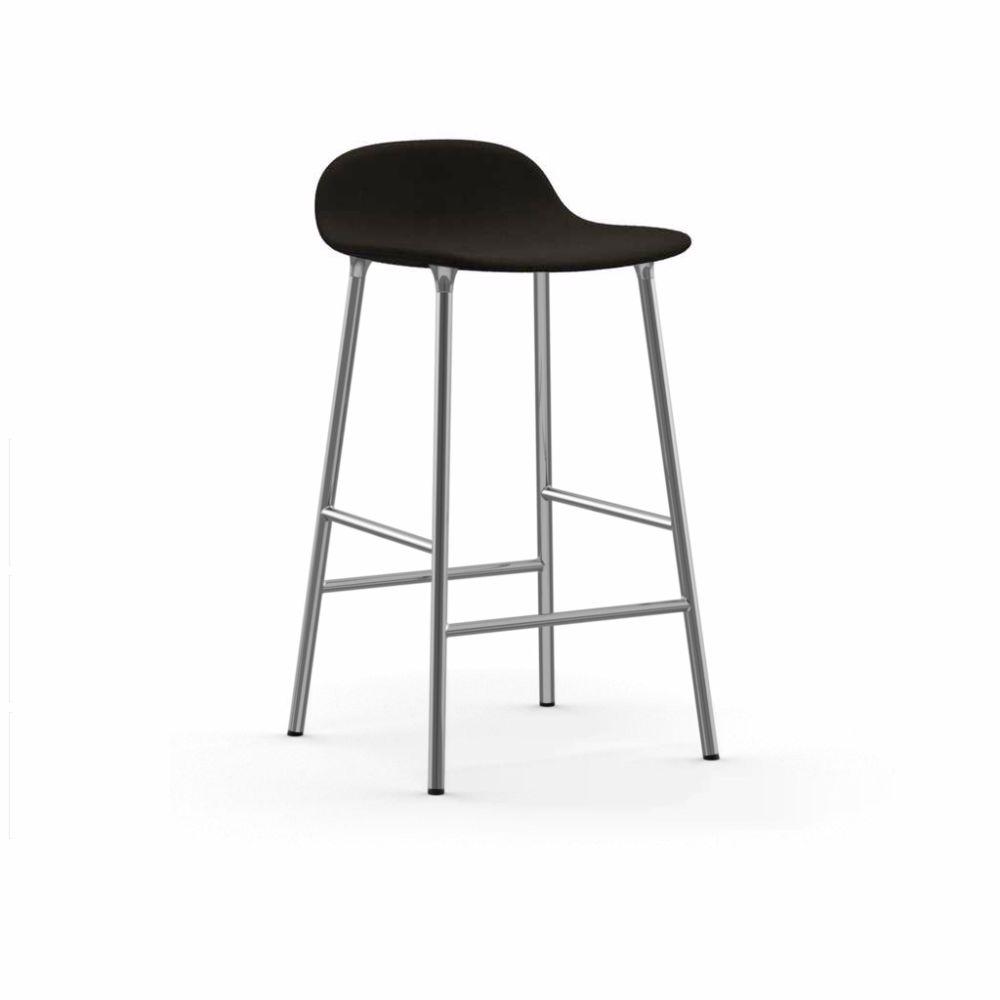 Form Barstool - Fully Upholstered by Normann Copenhagen