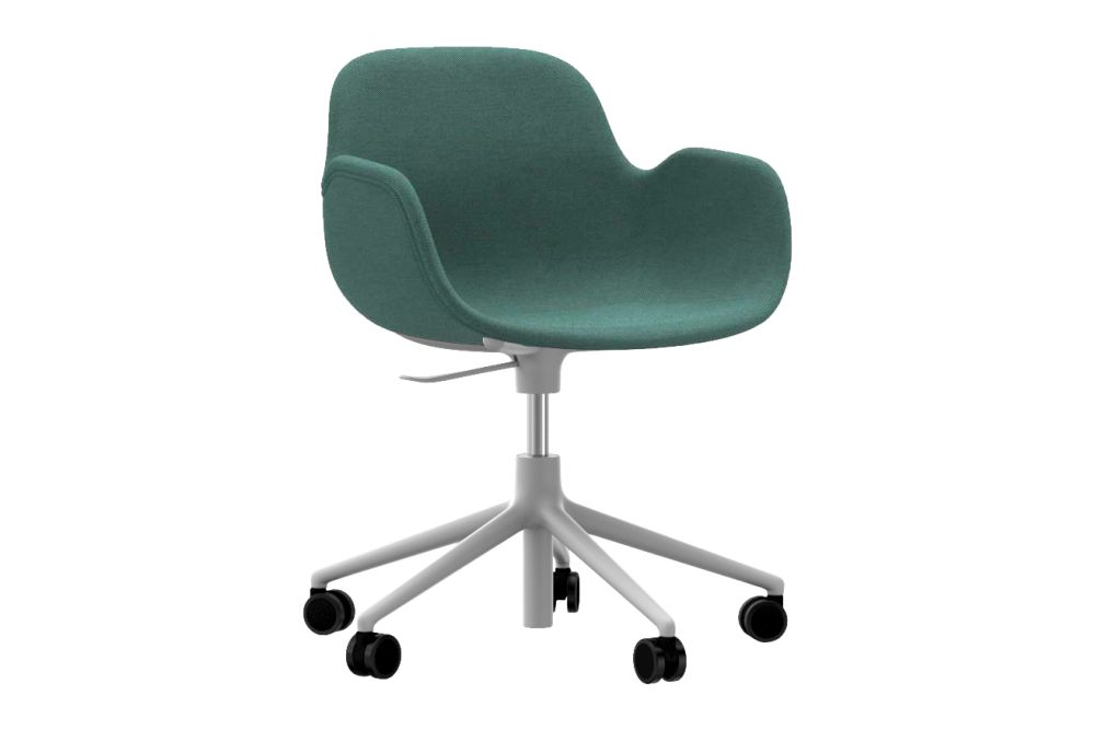 Form Swivel Armchair 5W Gaslift - Fully Upholstered by Normann Copenhagen