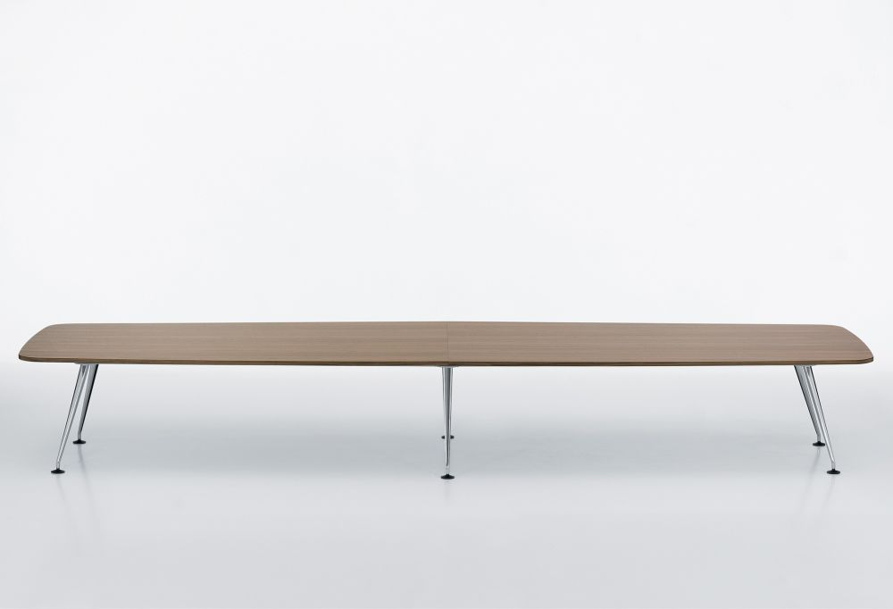 MedaMorph Boat-Shaped Conference Table 500x140 by Vitra