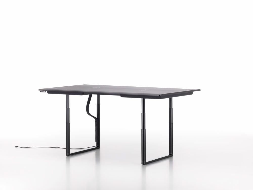 Tyde Meeting Table 200 x 100, Rectangular by Vitra