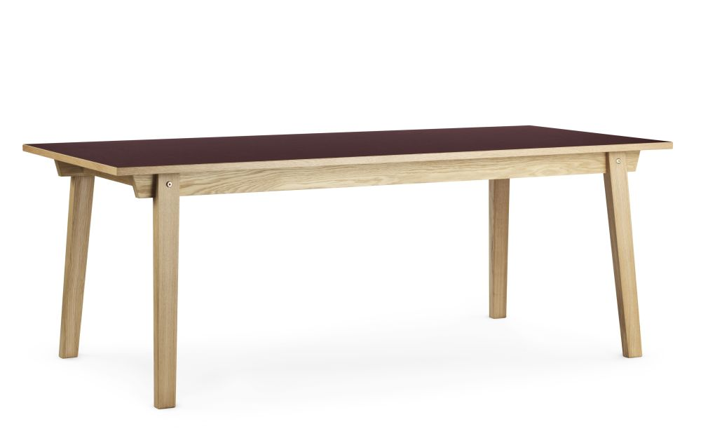Slice Dining Table Linoleum by Normann Copenhagen