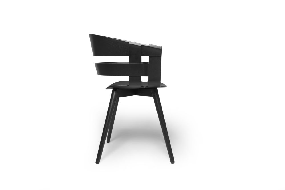 Wick Chair - Wooden Legs by Design House Stockholm