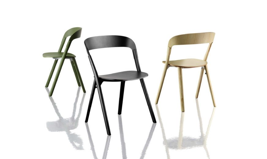 Pila Stacking Chair  - Set of 2 by Magis Design