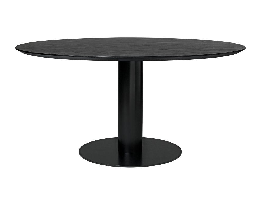 Gubi 2.0 Round Dining Table - Laminate by Gubi