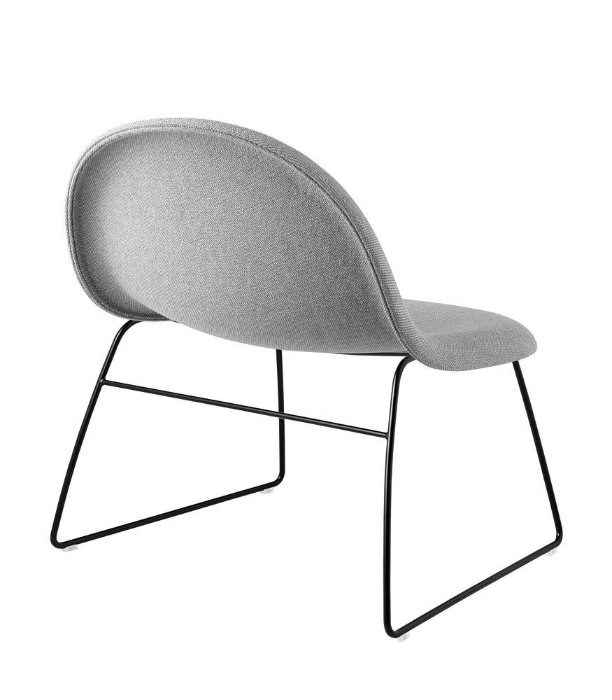 Gubi 3D Lounge Chair Sledge Base - Fully Upholstered by Gubi